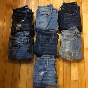 7 AE AMERICAN EAGLE JEGGINGS SIZE 4R